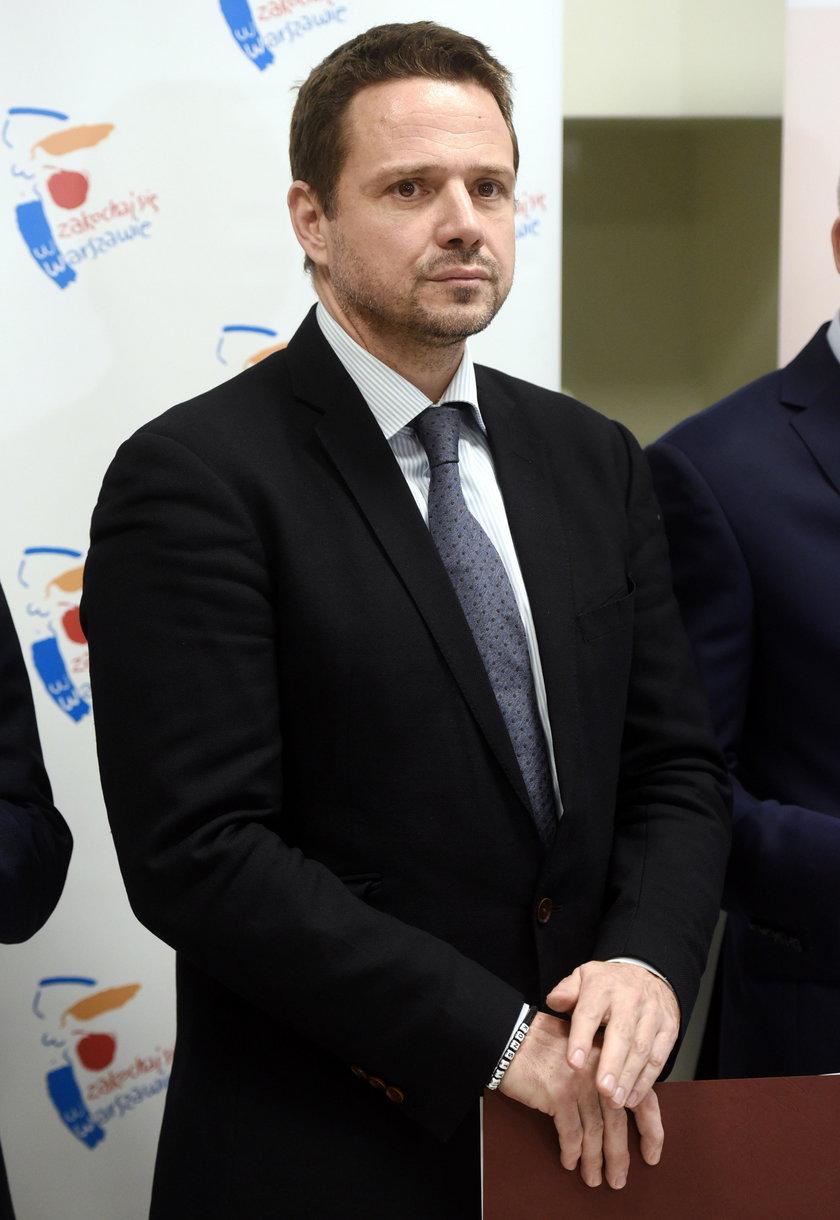Rafał Trzaskowski, prezydent Warszawy.