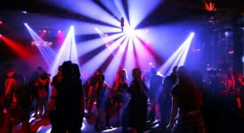 Revellers in a club (Courtesy)