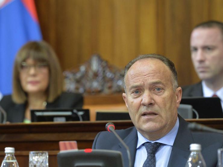 Mladen Šarčević, Skupština Srbije