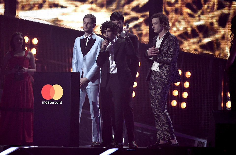 Brit Awards 2017: The 1975