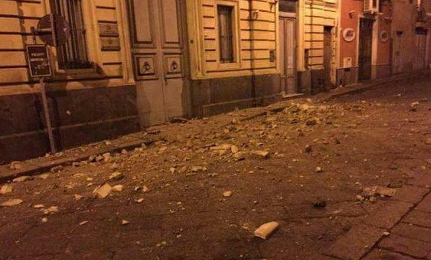 Trzęsienie ziemi na Sycylii. Są ranni