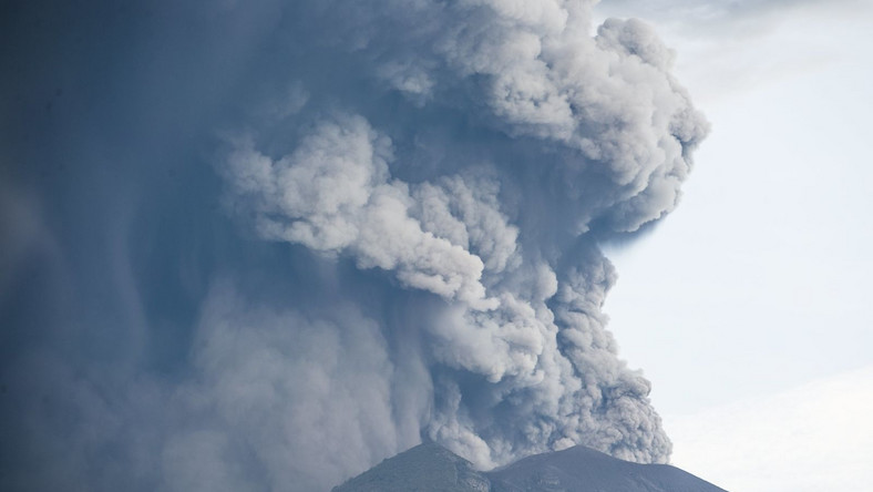 Wulkan na Bali