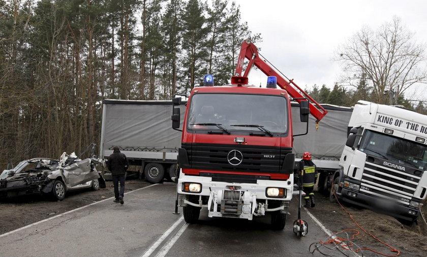 Wypadek na Podlasiu