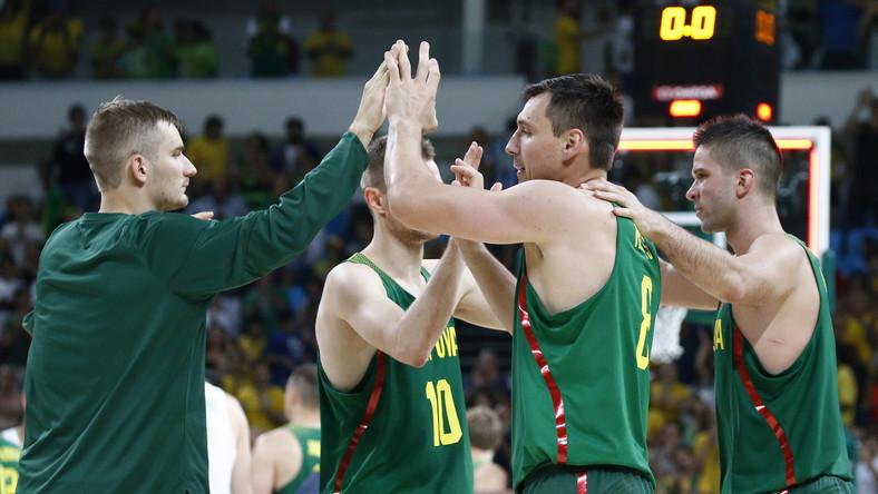 Koszykarze reprezentacji Litwy