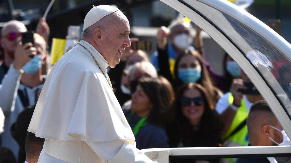 Papież Franciszek na Słowacji