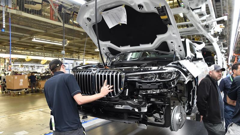 BMW X7 już powstaje w Spartanburgu