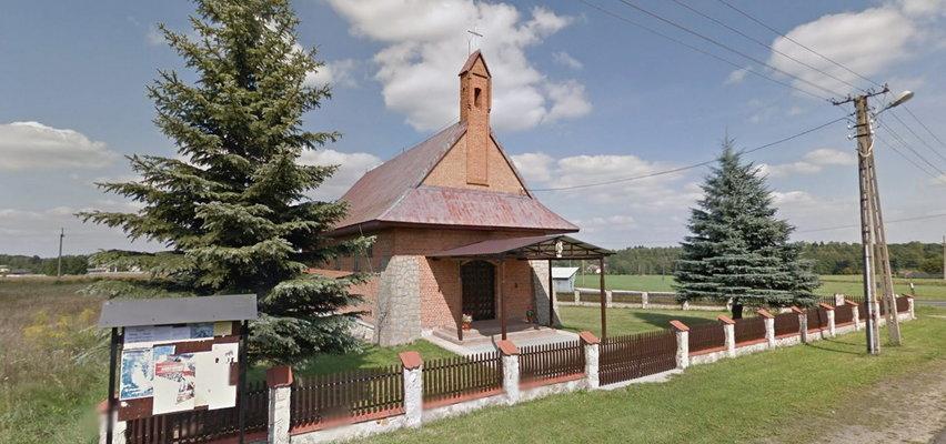 Kto zdemolował kaplicę w Hucie Dłutowskiej? Policja szuka sprawców