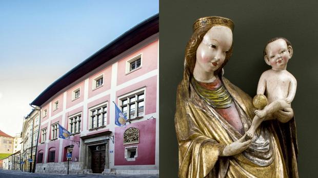 Pałac Biskupa Erazma Ciołka w Krakowie i Madonna z Krużlowej