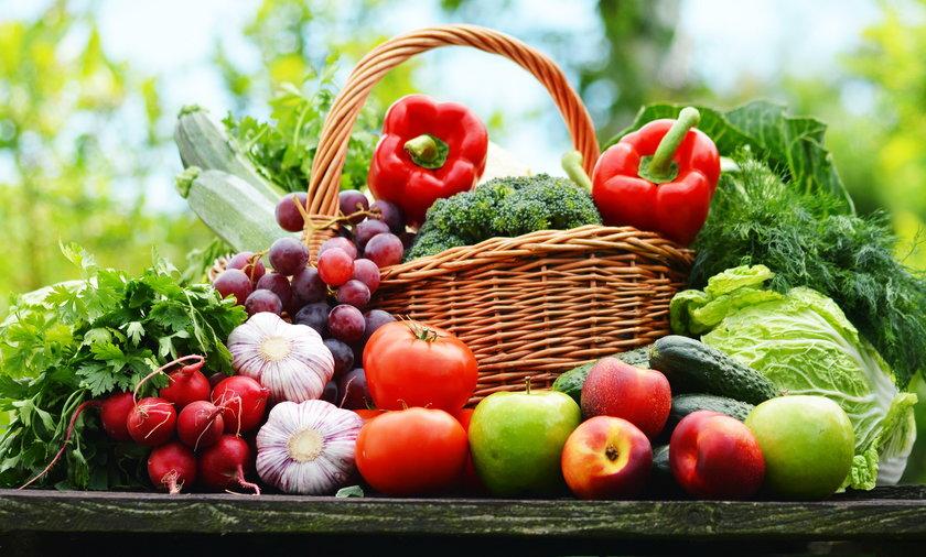 Dieta DASH obfituje w różnorodne warzywa i owoce