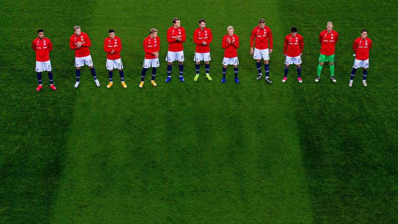 Piłkarze reprezentacji Norwegii
