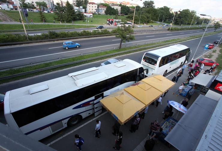 autobus, autoput