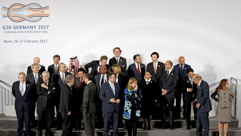 G20 Foreign Ministers meeting in Bonn