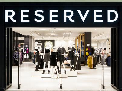 LPP jest właścicielem sieci sklepów odzieżowych - m.in. Reserved