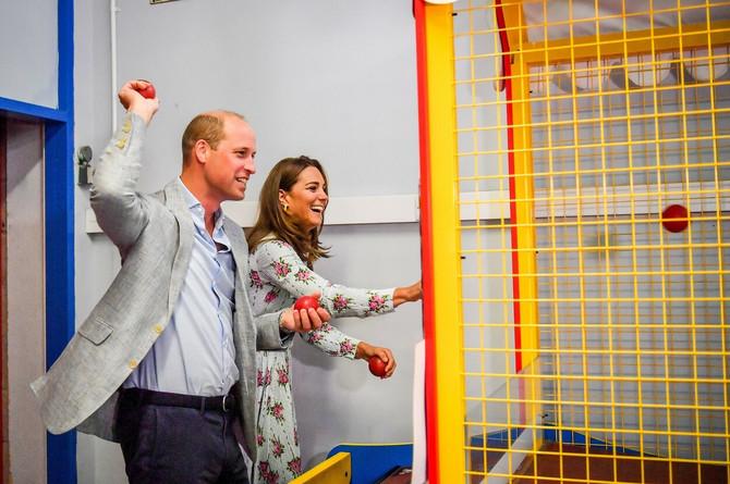 Kejt Midlton i princ Vilijam prošle godine u Velsu