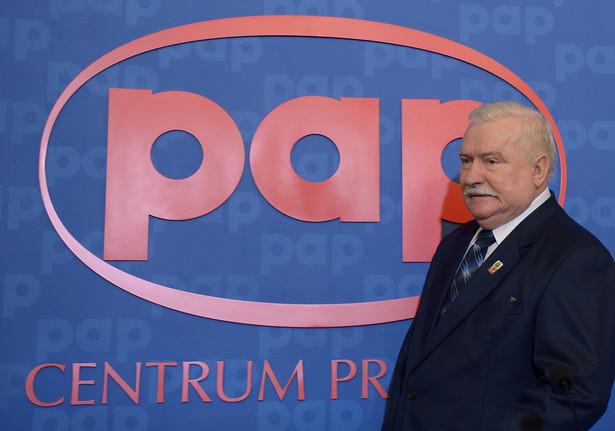 Lech Wałęsa PAP/Radek Pietruszka