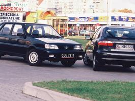Daewoo Lanos kontra Daewoo-FSO Polonez - z archiwum Auto Świata