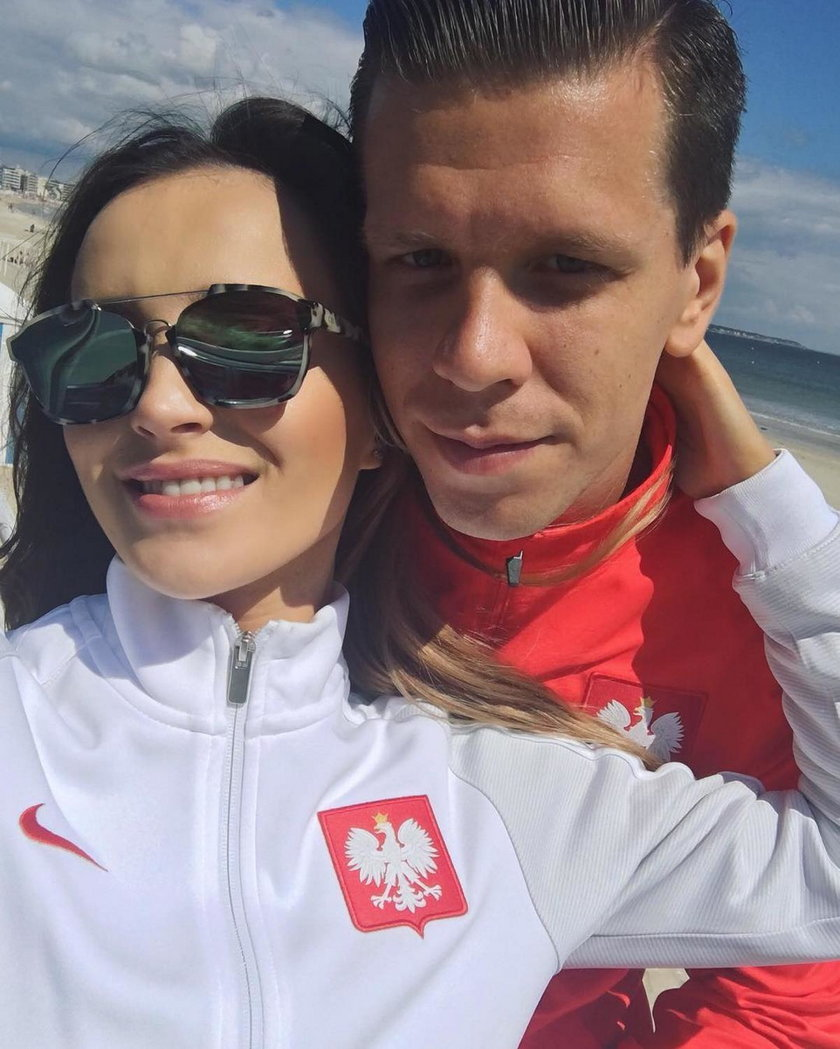 Marina Łuczenko-Szczęsna i Wojciech Szczęsny