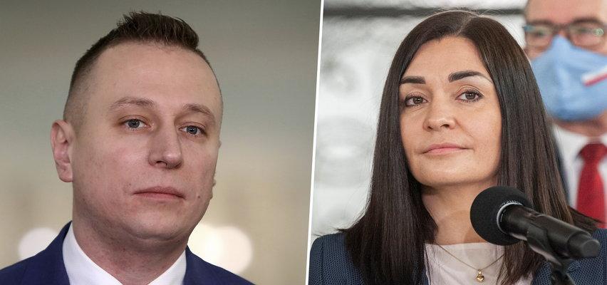 Magdalena Sroka i Krzysztof Brejza w TVN24. Mówili o najnowszym sondażu i ustawie medialnej