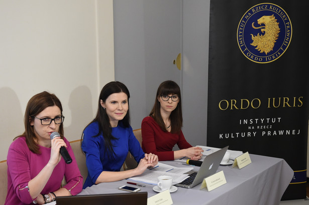 Działaczki Instytutu na Rzecz Kultury Prawnej Ordo Iuris