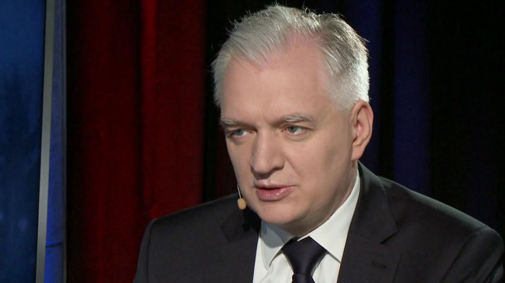 Burza polityczna. Jarosław Gowin