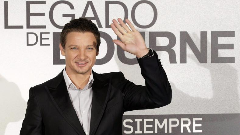Jeremy Renner promował nowego Bourne'a w Madrycie