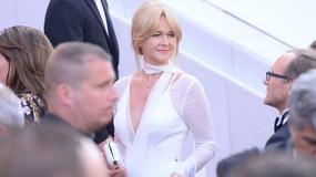 Cannes 2017: zjawiskowa Grażyna Torbicka w białej sukni. Zobacz kulisy sesji