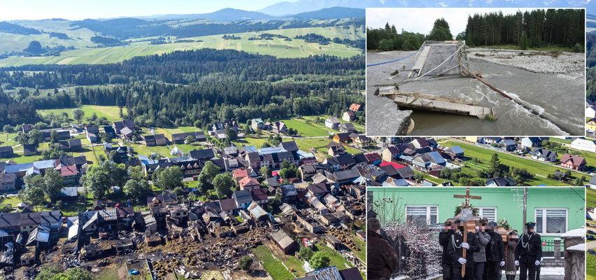 Nieszczęścia uwzięły się na Nową Białą. Trzy pożary, ciągłe powodzie i tragedia na początku roku