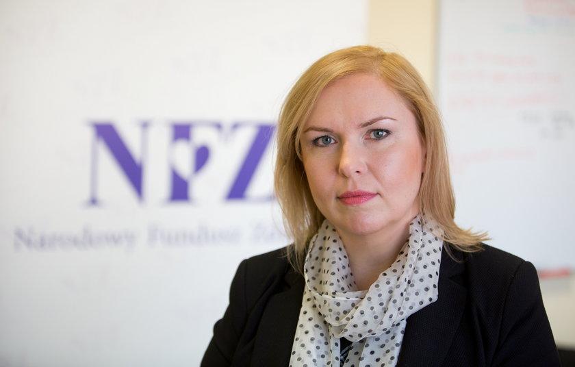 Małgorzata Doros, rzecznik NFZ