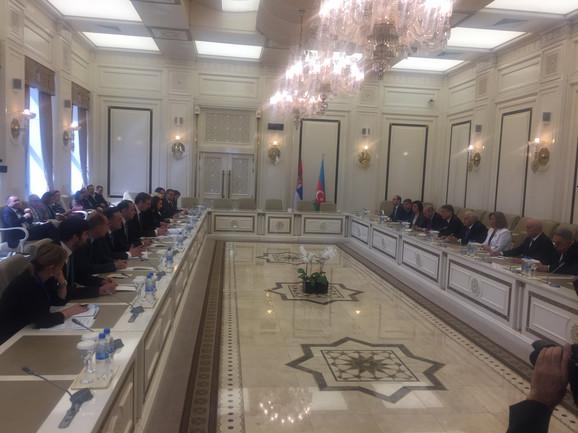 Razgovori sa predstavnicima azerbejdžanskog parlamenta