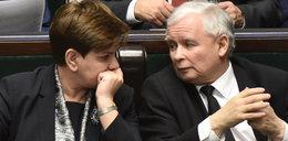 Kaczyński i Szydło zamknęli się w gabinecie
