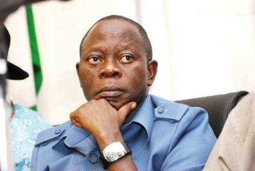 APC national chairman, Adams Oshiomhole, was heavily booed at the rally