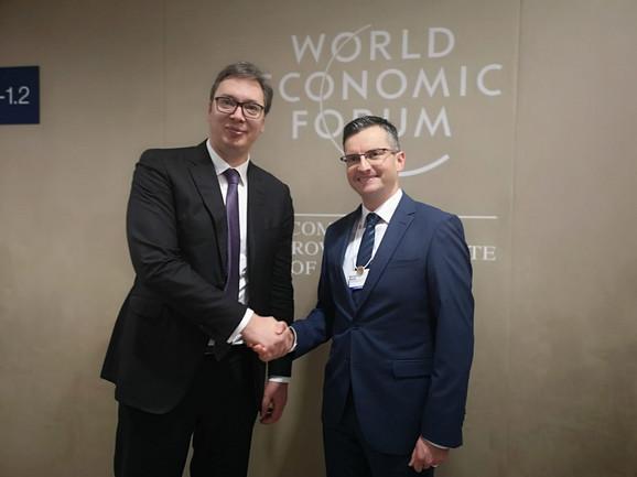 Vučić se sreo sa slovenačkim premijerom