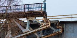 Rozbierają most na Starołęce