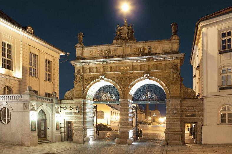 Brama browaru w Pilźnie. fot. Petr Polak