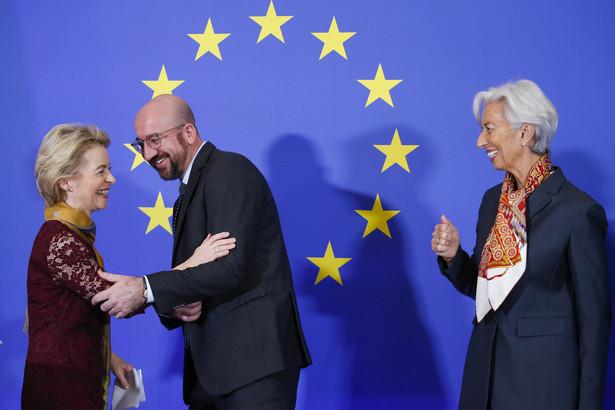 Przyznanie najwyższych stanowisk przez Radę Europejską w 2019 r. było nowatorskie i niepokojące. Nie podjęto żadnych wysiłków, aby zapewnić reprezentację regionalną. Wszystko wzięła stara Unia. Szefową KE jest Niemka Ursula von der Leyen, przewodniczącym Rady Europejskiej Belg Charles Michel, a EBC Francuzka Christine Lagarde