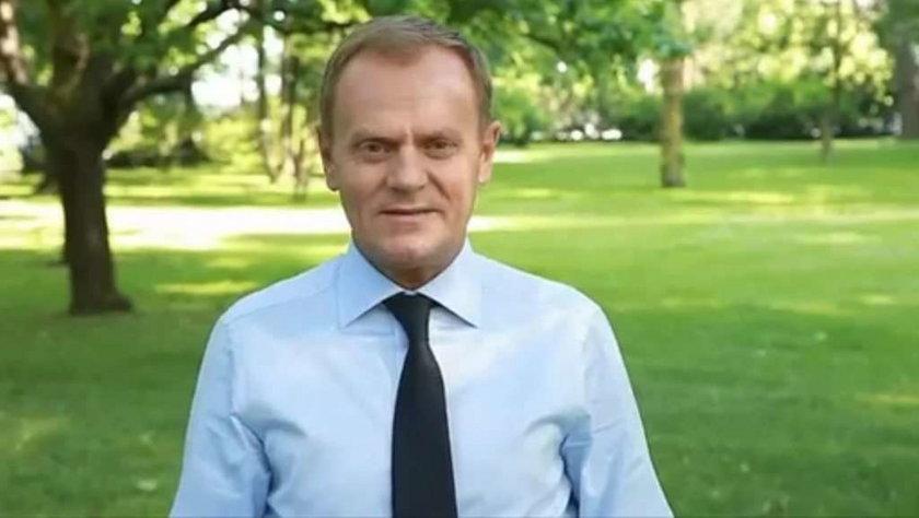 Donald Tusk w reklamie Euro