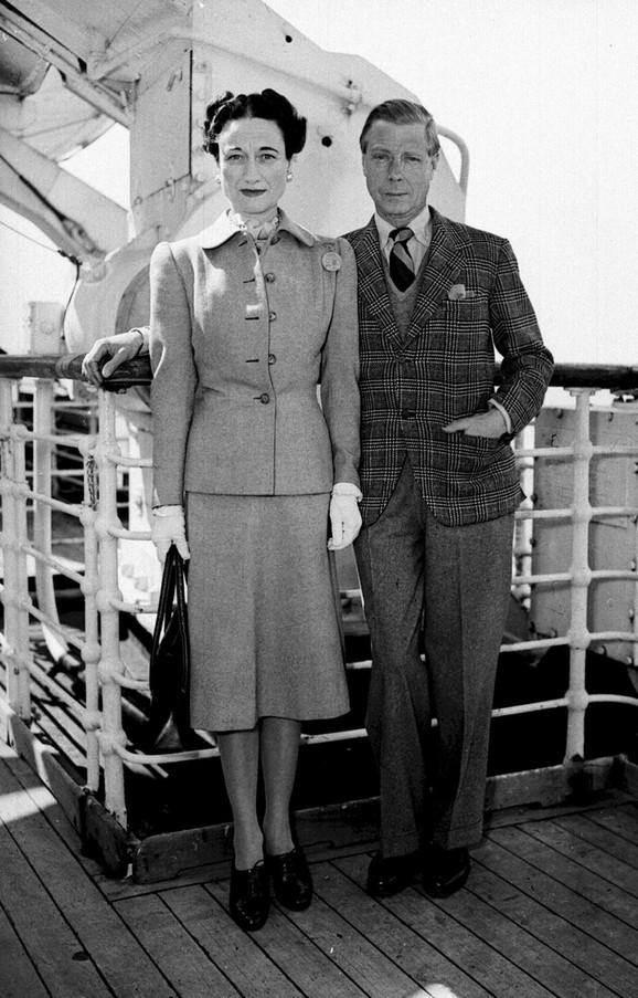 Edvard VIII sa suprugom