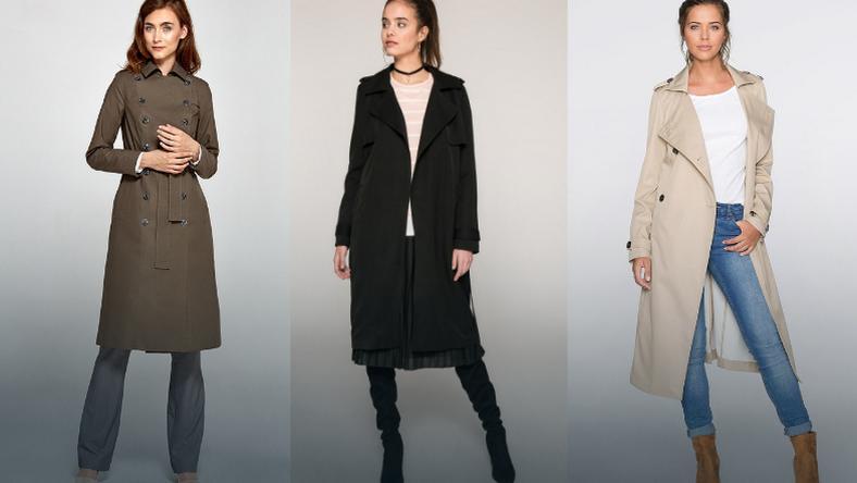 987d1e26dbe101 Płaszcz wiosenny damski, płaszcz trencz damski - propozycje - Moda
