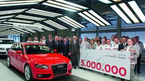 5-milionowe Audi A4 zjechało z taśmy