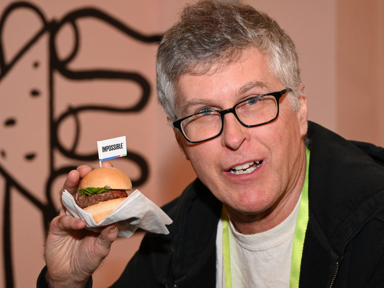 pat brown impossible foods
