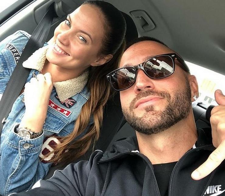 Nenad Aleksić Ša i supruga Ivana