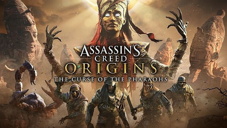 Assassin's Creed Origins: The Curse of the Pharaohs - premierowy trailer i 15 min rozgrywki