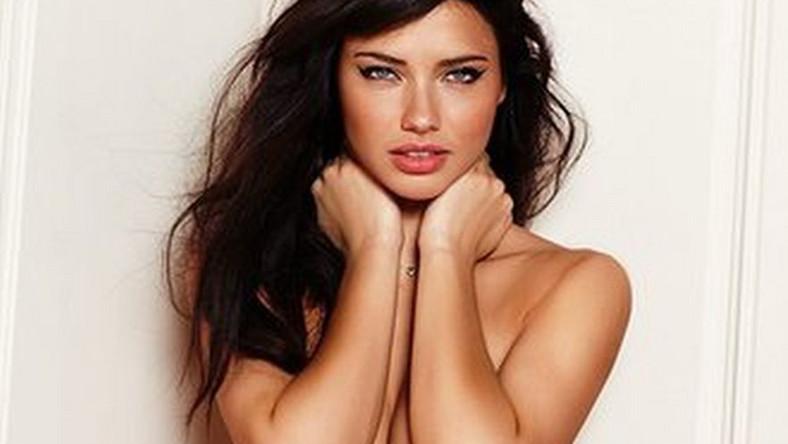 Adriana Lima w wiosennej kolekcji bielizny Victoria's Secret