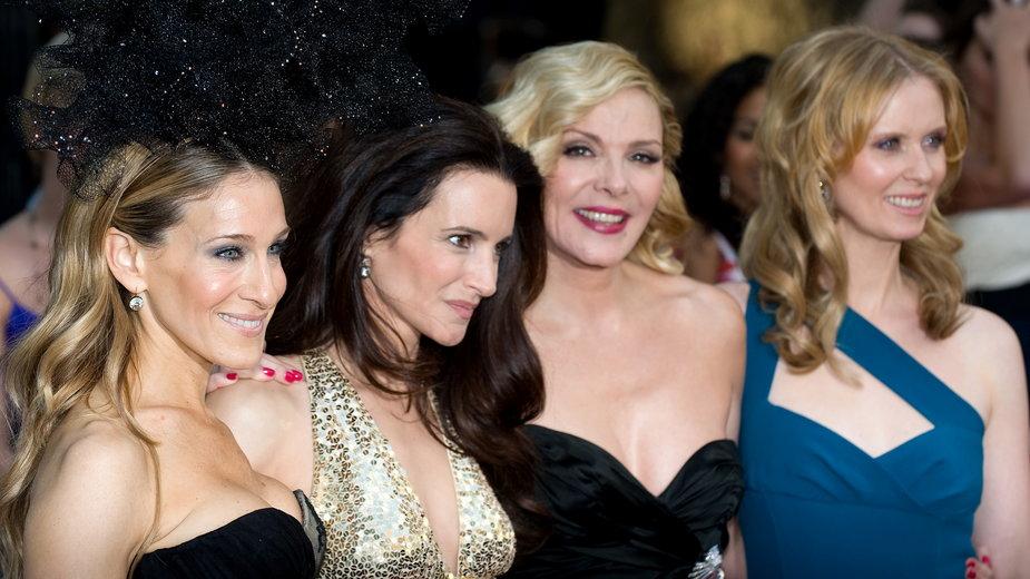 Sarah Jessica Parker, Kristin Davis, Kim Catrall i Cynthia Nixon