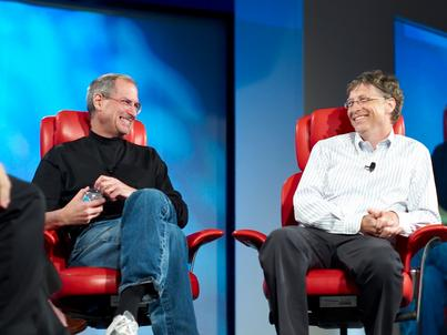 Steve Jobs i Bill Gates