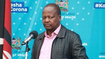 Things are not better- CS Kagwe warns as Coronavirus numbers rise drastically