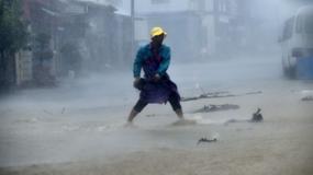 Supertajfun Meranti zaatakował Tajwan