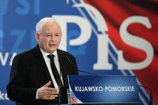 Kaczyński na konwencji w Bydgoszczy: Jeśli ktoś chce dobrej zmiany musi poprzeć PiS