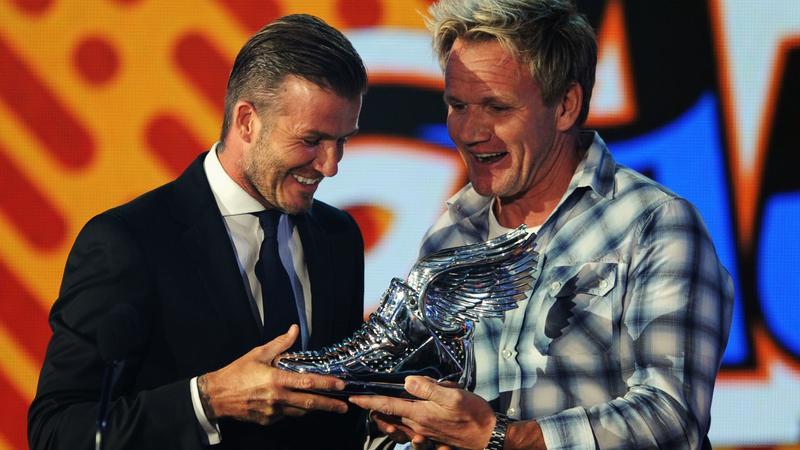 Gordon Ramsay i David Beckham