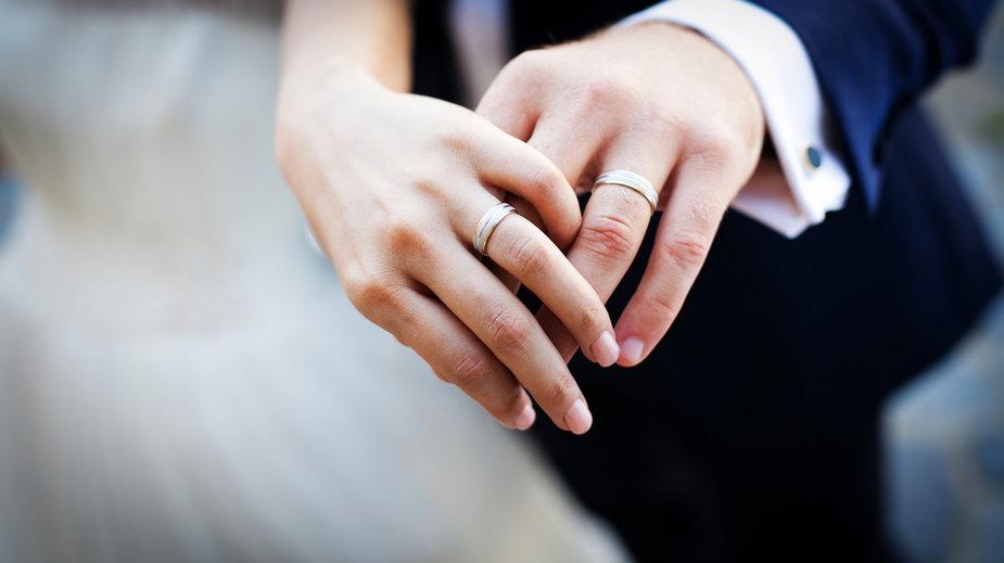 Pary nie wpuszczono na ceremonię zaślubin